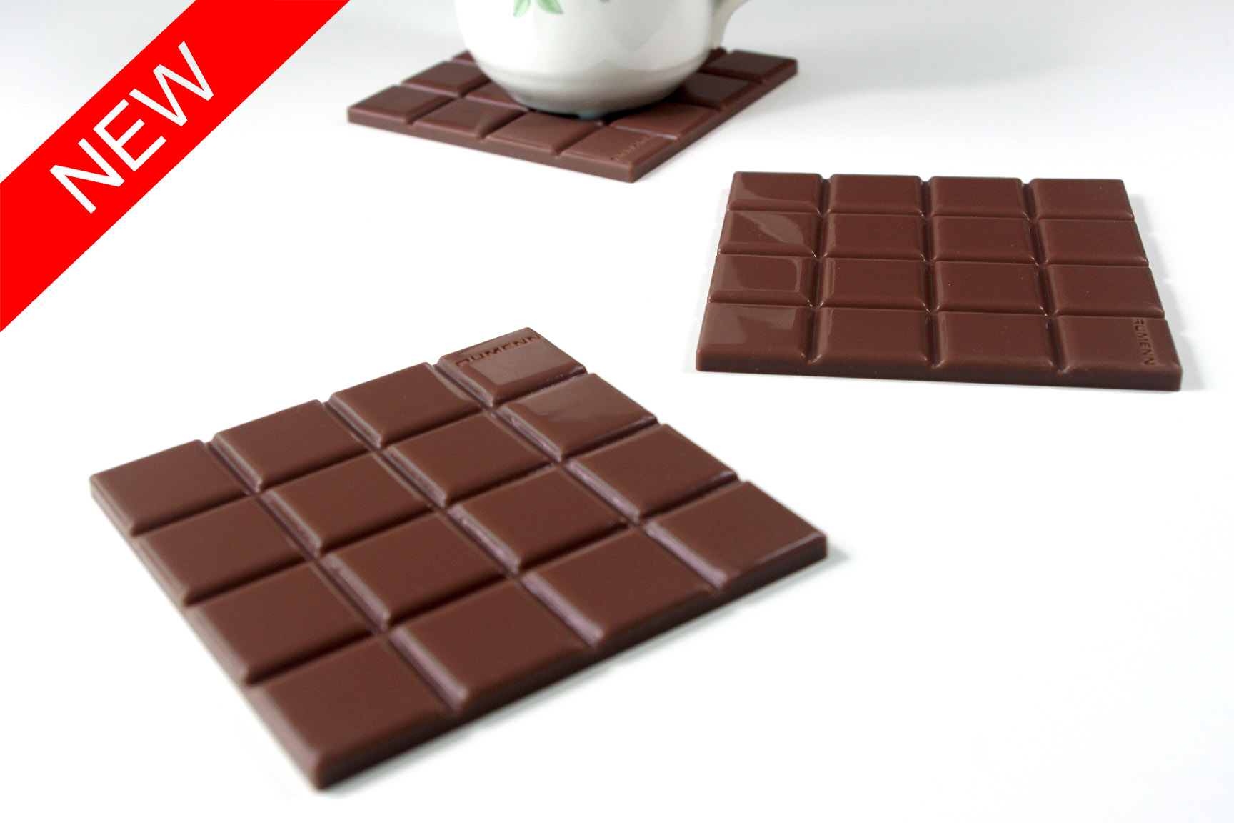 Lifestyle Product Rubber coaster chocolate